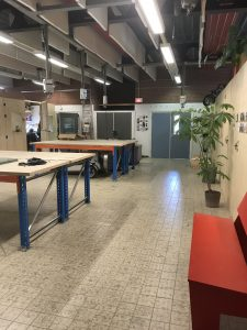 Ruimte huren Zwolle Creatieve Coöperatie grote werkplaats