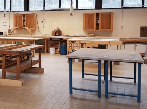 Houtwerkplaats huren in Zwolle Creatieve Coöperatie