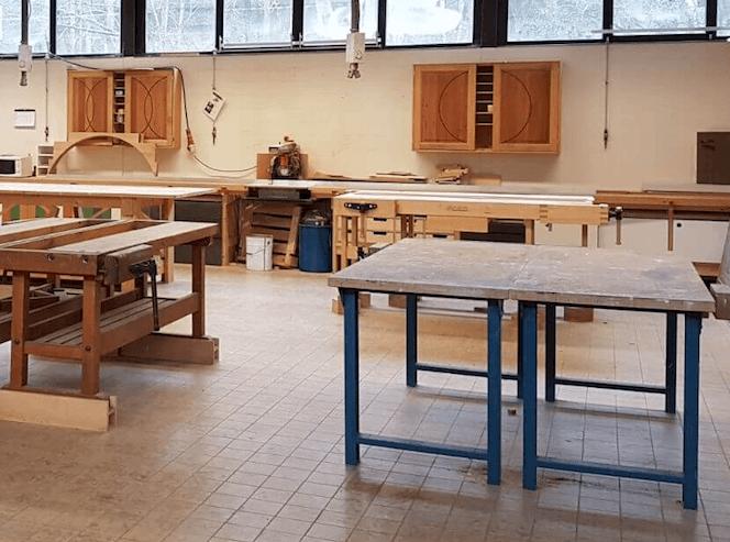 Houtwerkplaats huren in Zwolle Co
